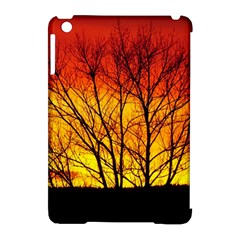 Sunset Abendstimmung Apple Ipad Mini Hardshell Case (compatible With Smart Cover) by BangZart