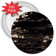 Lake Water Wave Mirroring Texture 3  Buttons (100 Pack)