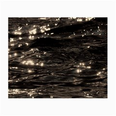 Lake Water Wave Mirroring Texture Small Glasses Cloth