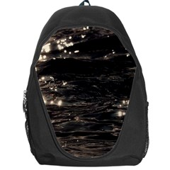 Lake Water Wave Mirroring Texture Backpack Bag by BangZart