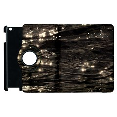 Lake Water Wave Mirroring Texture Apple Ipad 2 Flip 360 Case by BangZart