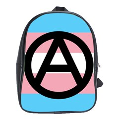Anarchist Pride School Bags (xl)  by TransPrints