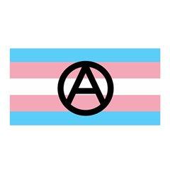 Anarchist Pride Satin Wrap by TransPrints