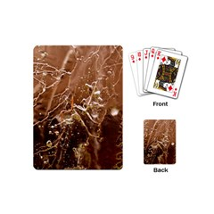 Ice Iced Structure Frozen Frost Playing Cards (mini)  by BangZart