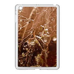 Ice Iced Structure Frozen Frost Apple Ipad Mini Case (white) by BangZart