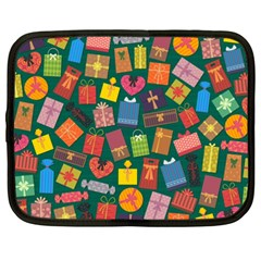 Presents Gifts Background Colorful Netbook Case (xxl)  by BangZart