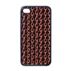 Chain Rusty Links Iron Metal Rust Apple Iphone 4 Case (black) by BangZart