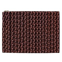 Chain Rusty Links Iron Metal Rust Cosmetic Bag (xxl)  by BangZart