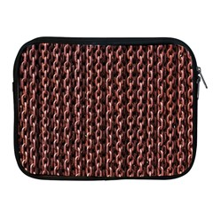 Chain Rusty Links Iron Metal Rust Apple Ipad 2/3/4 Zipper Cases by BangZart