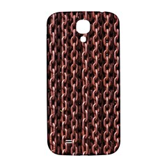 Chain Rusty Links Iron Metal Rust Samsung Galaxy S4 I9500/i9505  Hardshell Back Case by BangZart