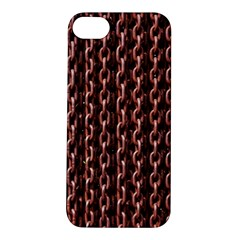 Chain Rusty Links Iron Metal Rust Apple Iphone 5s/ Se Hardshell Case by BangZart