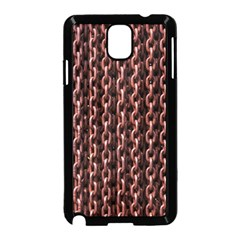 Chain Rusty Links Iron Metal Rust Samsung Galaxy Note 3 Neo Hardshell Case (black) by BangZart