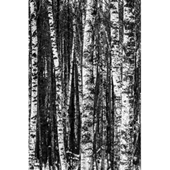 Birch Forest Trees Wood Natural 5 5  X 8 5  Notebooks by BangZart