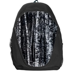Birch Forest Trees Wood Natural Backpack Bag by BangZart