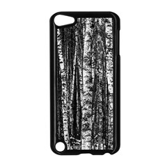 Birch Forest Trees Wood Natural Apple Ipod Touch 5 Case (black) by BangZart