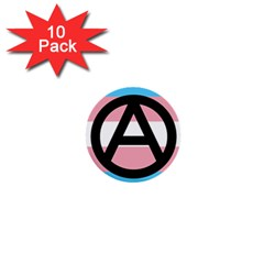 Anarchist Pride 1  Mini Buttons (10 Pack)  by TransPrints