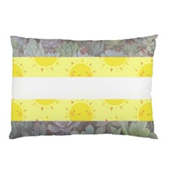 Nonbinary Flag Pillow Case by AnarchistTransPride