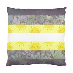 Cute Flag Standard Cushion Case (one Side) by TransPrints