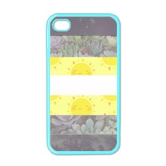 Cute Flag Apple Iphone 4 Case (color) by TransPrints