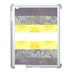 Cute Flag Apple Ipad 3/4 Case (white) by TransPrints
