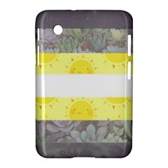 Cute Flag Samsung Galaxy Tab 2 (7 ) P3100 Hardshell Case  by TransPrints