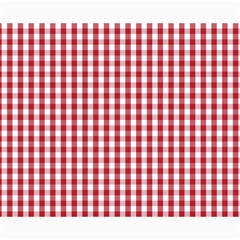 Usa Flag Red Blood Large Gingham Check Canvas 16  X 20   by PodArtist