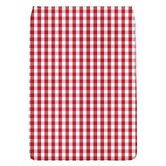 Usa Flag Red Blood Large Gingham Check Flap Covers (l)  by PodArtist