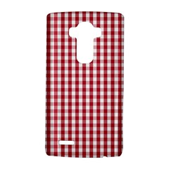 Usa Flag Red Blood Large Gingham Check Lg G4 Hardshell Case by PodArtist