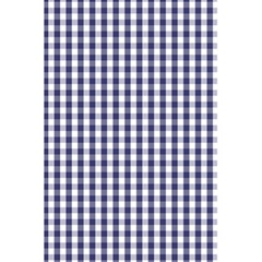 Usa Flag Blue Large Gingham Check Plaid  5 5  X 8 5  Notebooks by PodArtist