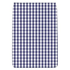 Usa Flag Blue Large Gingham Check Plaid  Flap Covers (s)  by PodArtist