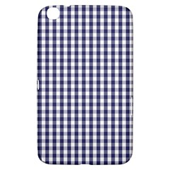 Usa Flag Blue Large Gingham Check Plaid  Samsung Galaxy Tab 3 (8 ) T3100 Hardshell Case  by PodArtist