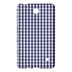 Usa Flag Blue Large Gingham Check Plaid  Samsung Galaxy Tab 4 (8 ) Hardshell Case  by PodArtist