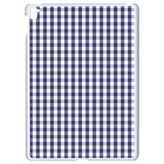 Usa Flag Blue Large Gingham Check Plaid  Apple Ipad Pro 9 7   White Seamless Case by PodArtist