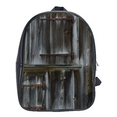 Alpine Hut Almhof Old Wood Grain School Bags (xl)  by BangZart