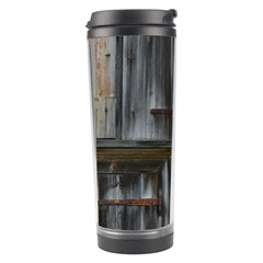 Alpine Hut Almhof Old Wood Grain Travel Tumbler by BangZart