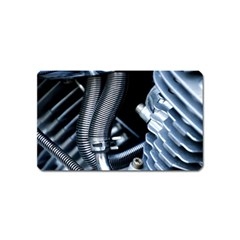 Motorcycle Details Magnet (name Card) by BangZart