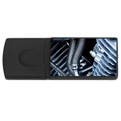 Motorcycle Details Usb Flash Drive Rectangular (4 Gb) by BangZart