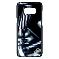 Motorcycle Details Samsung Galaxy S8 Plus Black Seamless Case