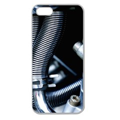 Motorcycle Details Apple Seamless Iphone 5 Case (clear) by BangZart