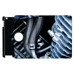 Motorcycle Details Apple Ipad 2 Flip 360 Case by BangZart
