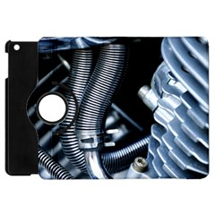 Motorcycle Details Apple Ipad Mini Flip 360 Case by BangZart