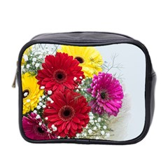 Flowers Gerbera Floral Spring Mini Toiletries Bag 2 Side by BangZart