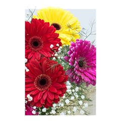 Flowers Gerbera Floral Spring Shower Curtain 48  X 72  (small)  by BangZart