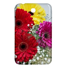 Flowers Gerbera Floral Spring Samsung Galaxy Tab 3 (7 ) P3200 Hardshell Case  by BangZart