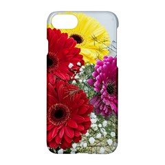 Flowers Gerbera Floral Spring Apple Iphone 7 Hardshell Case by BangZart