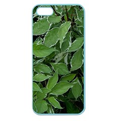 Texture Leaves Light Sun Green Apple Seamless Iphone 5 Case (color) by BangZart