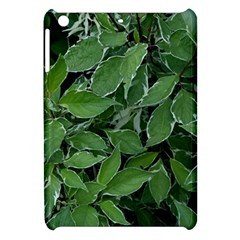 Texture Leaves Light Sun Green Apple Ipad Mini Hardshell Case by BangZart
