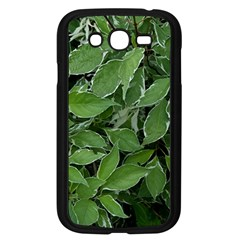 Texture Leaves Light Sun Green Samsung Galaxy Grand Duos I9082 Case (black) by BangZart
