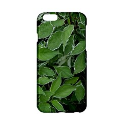 Texture Leaves Light Sun Green Apple Iphone 6/6s Hardshell Case by BangZart