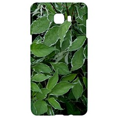 Texture Leaves Light Sun Green Samsung C9 Pro Hardshell Case  by BangZart